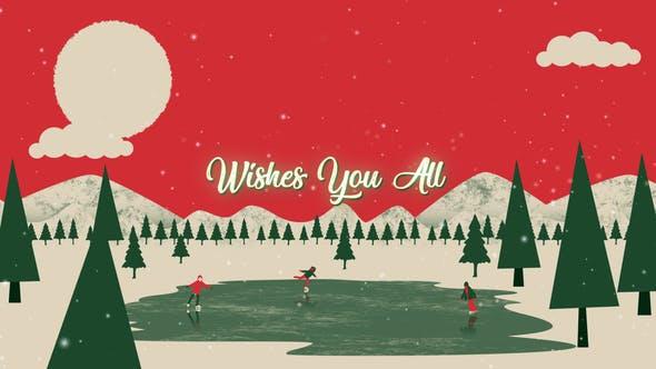 Videohive Christmas Greetings 13721314