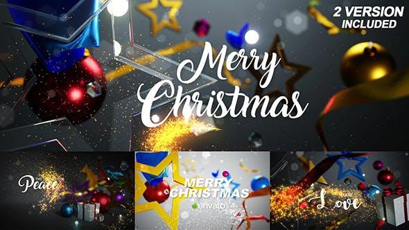 Videohive Christmas Greetings 19065728