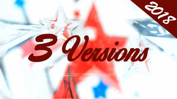 Videohive Christmas ID 3D Opener 13832811