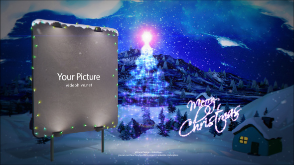 Videohive Christmas Ident