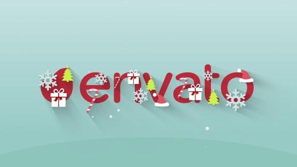 Videohive Christmas Logo 13654793