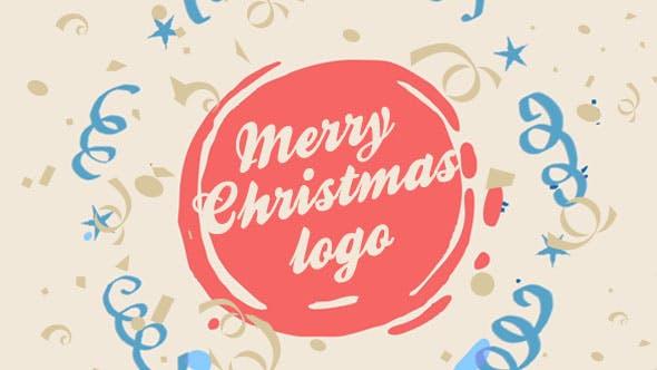 Videohive Christmas Logo 21078093