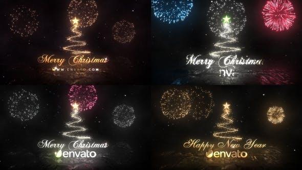 Videohive Christmas Logo 22859944
