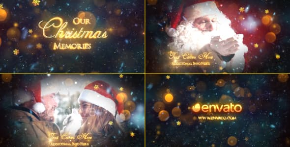 Videohive Christmas Memories - Slideshow 18894105