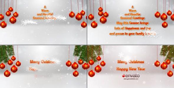 Videohive Christmas Opener 13918535