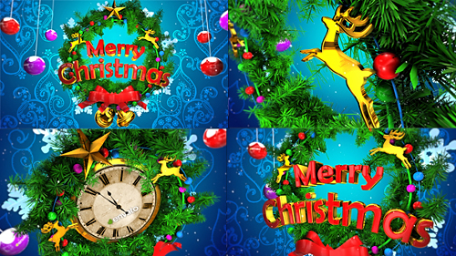 Videohive Christmas Opener & Countdown 18851307