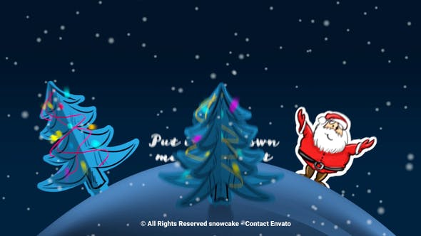 Videohive Christmas Paper World 9721587