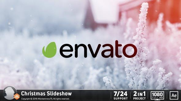 Videohive Christmas Slideshow 19184916