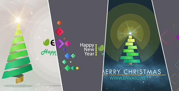 Videohive Christmas Tree Symbols Pack 14114647