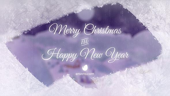 Videohive Christmas Village Landscape 20898385