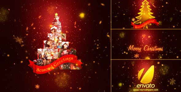 Videohive Christmas Wishes Multi Video 3437416