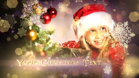 Videohive Christmas Wonders Promo 18848087