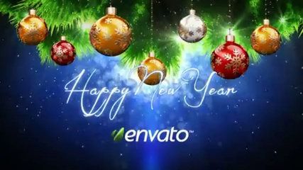 Videohive Christmat New Year Intro