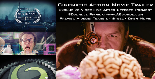 Videohive Cinematic Action Movie Trailer 10983705