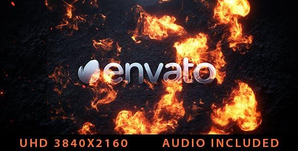 Videohive Cinematic Fire Logo 20727138