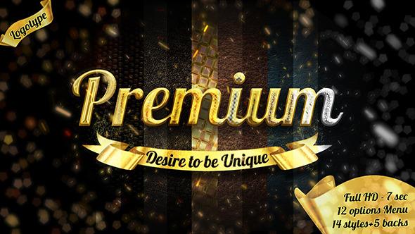 Videohive Cinematic Gold Luxury Opener - 23 styles