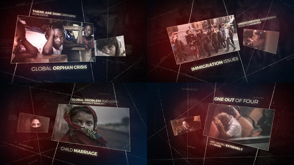 Videohive Cinematic History and Documentary Opener 21997040