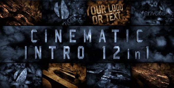 Videohive Cinematic Intro 12in1