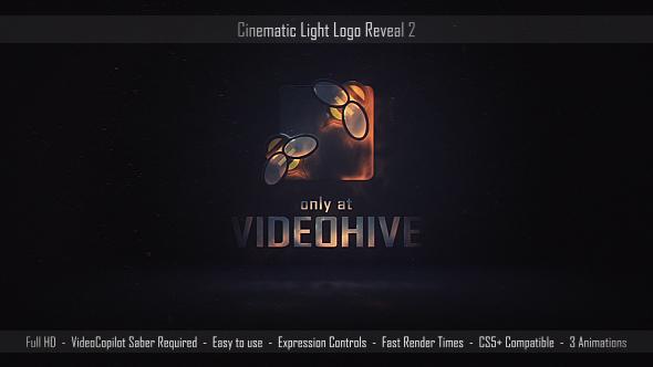 Videohive Cinematic Light Logo Reveal 2 17599359