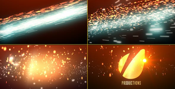 Videohive Cinematic Light Streaks Logo 4832610