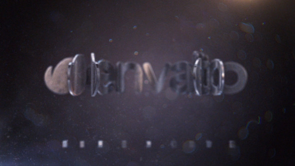Videohive Cinematic Metal Logo 12444262