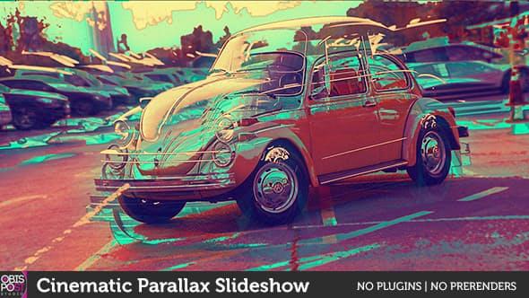 Videohive Cinematic Parallax Slideshow 18048768