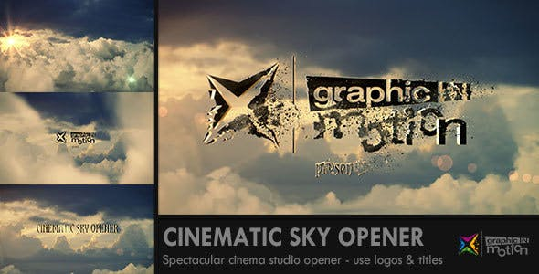 Videohive Cinematic Sky Opener 14440022