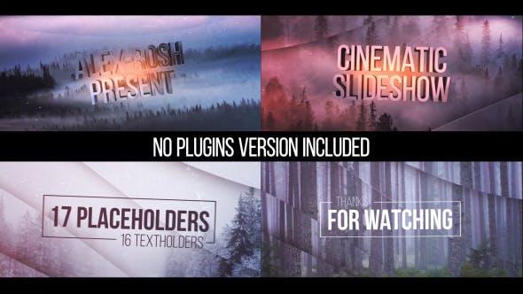 Videohive Cinematic Slideshow 14966870