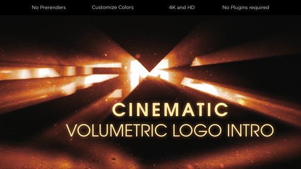 Videohive Cinematic Volumetric Logo Intro 26753343