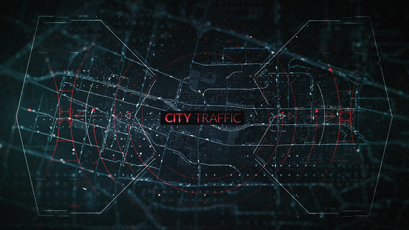 Videohive City Traffic Trailer 22291070