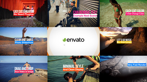 Videohive Clean And Simple Slideshow