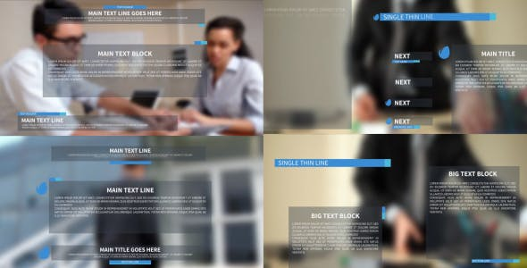 Videohive Clean Corporate Lower Thirds And Titles 19495149