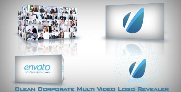 Videohive Clean Corporate Multi Video-Logo Opener 2377994