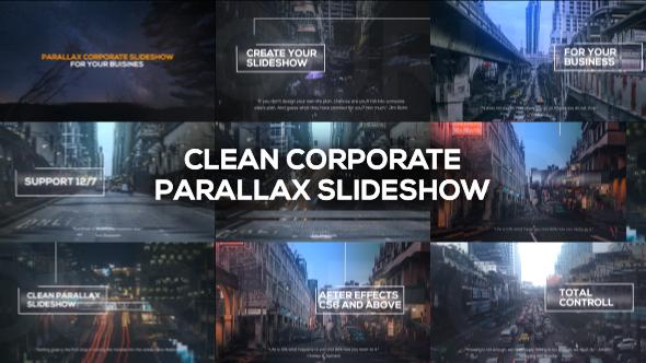 Videohive Clean Corporate Parallax Slideshow 19969679