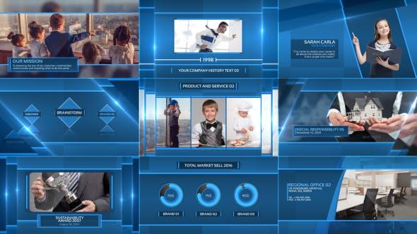 Videohive Clean Corporate Presentation 16457583