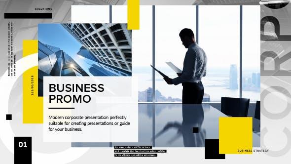 Videohive Clean Corporate Presentation 21256999