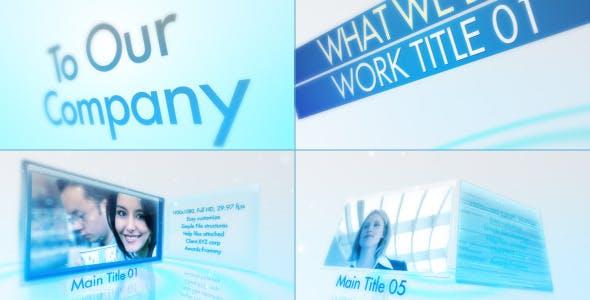 Videohive Clean Corporate presentation 3558092