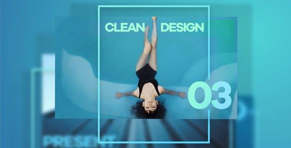 Videohive Clean Design Promo 15290027