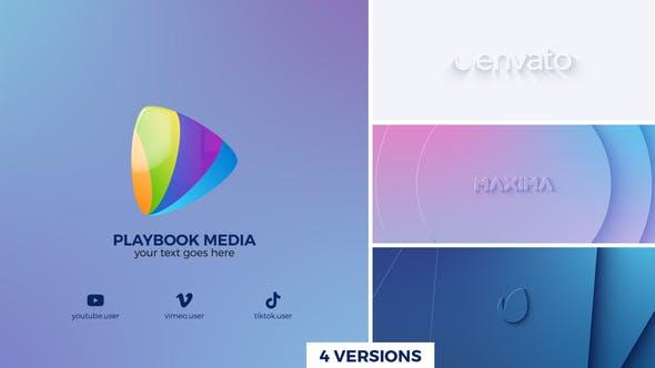 Videohive Clean Geometry Logo Reveal 27380466