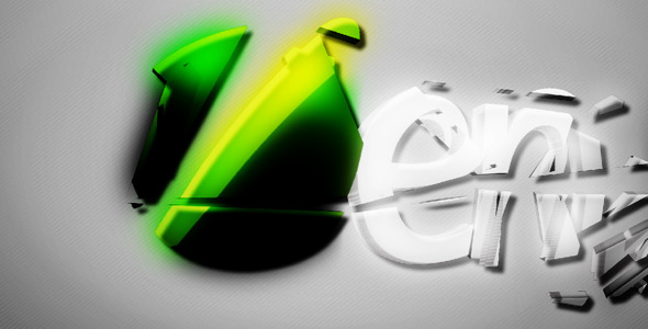 Videohive Clean Logo 3D 496021