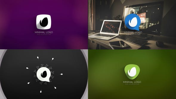 Videohive Clean Minimal Modular Logo Reveals 23188388