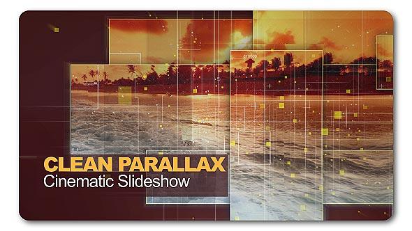 Videohive Clean Parallax Cinematic Slideshow 19847628