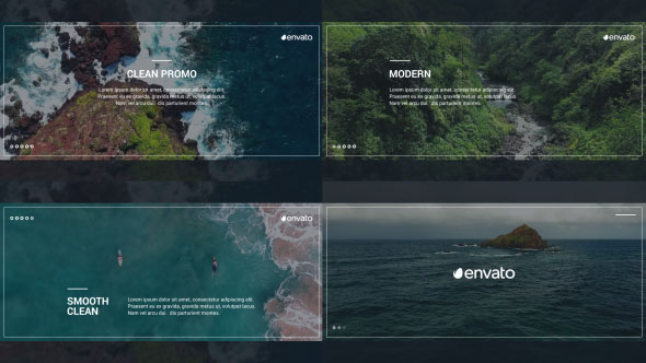 Videohive Clean Promo 17722248