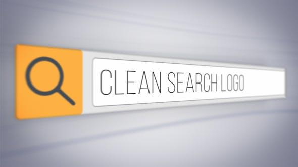 Videohive Clean Search Logo 15903868