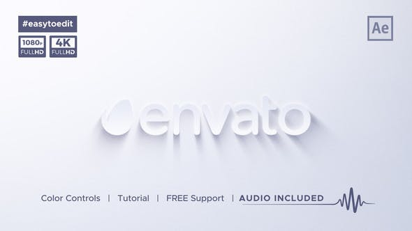 Videohive Clean Simple Logo Reveal 26488926