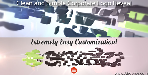 Videohive Clean and Simple Corporate Logo Reveal 8079843