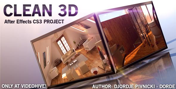 Videohive Clean3D