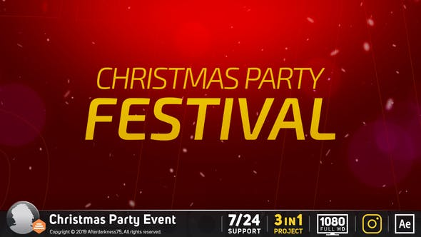 Videohive Club Party Event 23036408