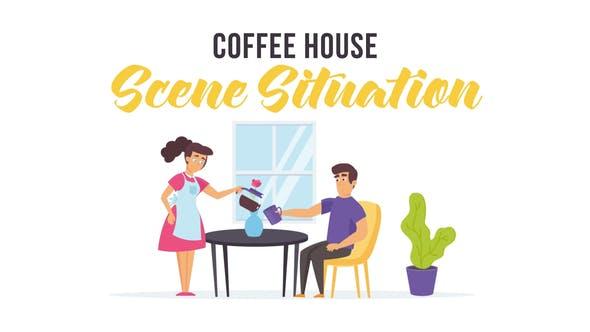Videohive Coffee house - Scene Situation 28256215