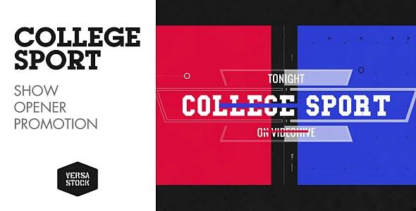 Videohive College Sport Promo 16913779